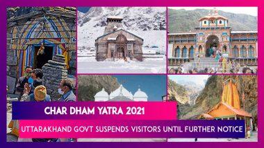 Char Dham Yatra 2021: Uttarakhand Govt Suspends Visitors To Holy Shrines Until Further Notice