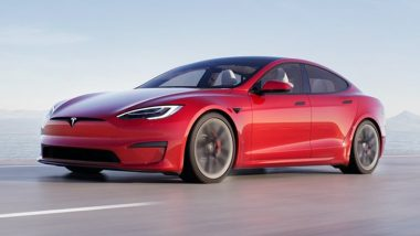 Tesla Model S Plaid Launched: Elon Musk's Firm Launches High-Performance Version of its Model S; 'The Fastest Accelerating Car'