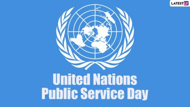 UN Public Service Day 2021 Date and Significance: Know History of the Day That Recognises Work of Public Servants
