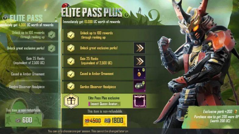 Battlefields Mobile India Elite Pass Plus