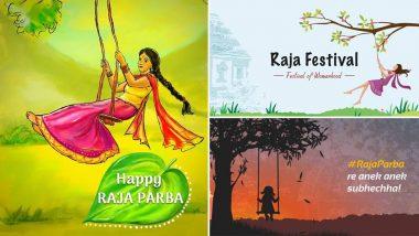 Raja Festival 2021 in Odisha: Twitter Flooded With Raja Parba Wishes; Mithun Sankranti Celebration Begins Today
