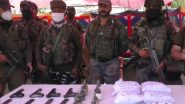 Jammu and Kashmir: Major Narco-Terror Module Busted by Baramulla Police Along With Army and CRPF; 10 Arrested