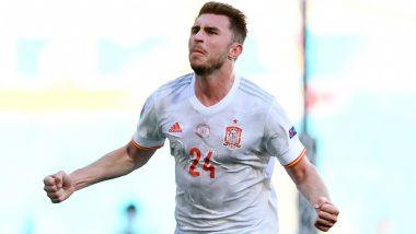 Euro 2020: Aymeric Laporte Reacts After Scoring First Goal for Spain