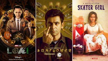 OTT Releases Of The Week: Tom Hiddleston's Loki on Disney+ Hotstar, Sunil Grover's Sunflower on ZEE5, Rachel Saanchita Gupta's Skater Girl on Netflix and More
