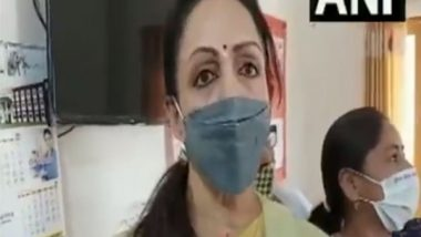Hema Malini Urges People To Get COVID-19 Vaccination, Says 'With Everyone Inoculated, the Possibility of 3rd Wave Is Limited'