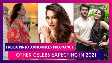 Freida Pinto Announces Pregnancy With Fiance Cory Tran, Other Celebs Expecting In 2021