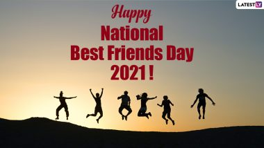 Happy National Best Friends Day 2021 Greetings Video: WhatsApp Messages, Images and Quotes to Celebrate Your BFFs!