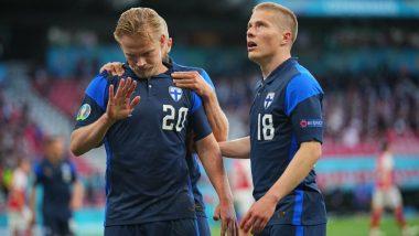 Denmark 0-1 Finland, Euro 2020 Result: Joel Pohjanpalo Scores As Finland Register Shock Win On Tournament Debut (Watch Goal Video Highlights)