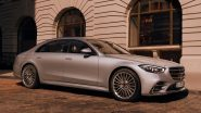2021 Mercedes-Benz S-Class Launching Today in India, Watch LIVE Streaming Here