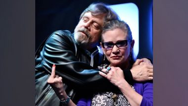 Mark Hamill Celebrates Carrie Fisher's Upcoming Star on the Hollywood Walk of Fame