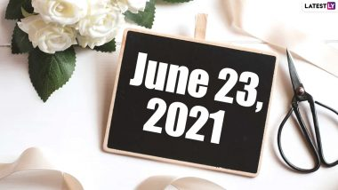June 23, 2021: Which Day Is Today? Know Holidays, Festivals and Events Falling on Today's Calendar Date