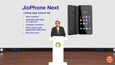 Reliance AGM 2021: JioPhone Next Announced, Here's How Much Jio's Affordable 4G Smartphone Could Cost