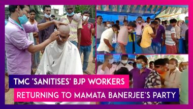 TMC 'Sanitises' BJP Workers Who Are Making A Comeback To Mamata Banerjee's Party