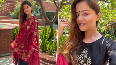 Rubina Dilaik Grooves to Love You Zindagi in a Pretty Ethnic Attire and It Is All the Monday Motivation We Need (Watch Video)