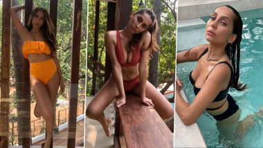 Anusha Dandekar Posts a Montage of Her Bikini Looks, Says Was Scared to Post Them Before (Watch Video)