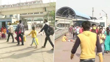 Delhi Unlock Begins; Migrant Workers Return to National Capital (See Pics)