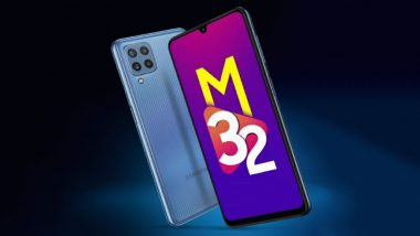 Samsung Galaxy M32 Smartphone To Be Launched in India Tomorrow