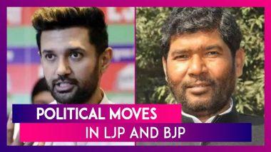 Political Moves In LJP And BJP: 5 MPs Rebel Against Chirag Paswan; MLAs Missing At Suvendu Adhikari's Meet