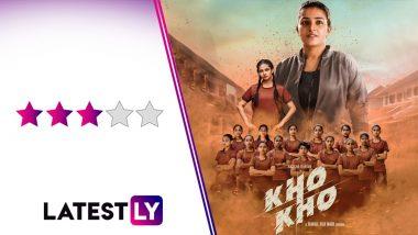 Kho Kho Movie Review: Rajisha Vijayan's Sports Drama Turns a Cliched Narrative Into Something Very Heartwarming! (LatestLY Exclusive)