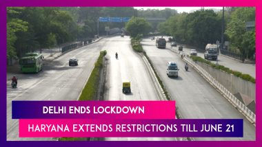 Delhi Ends Lockdown, Haryana Extends Restrictions Till June 21; What's Allowed & What's Not