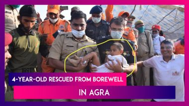 4-Year-Old Boy Rescued From Borewell In Agra, NDRF Chief Asks State Govt's To Regulate Open Borewells