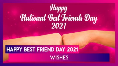 Happy Best Friend Day 2021 Wishes & HD Images: Messages and Greetings to Send to Your Best Friends