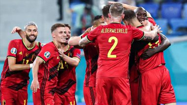 Denmark vs Belgium, UEFA Euro 2020 Live Streaming Online & Match Time in IST: How to Get Live Telecast of DEN vs BEL on TV & Free Football Score Updates in India