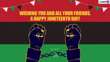 Juneteenth 2021: What Is Juneteenth? Know Significance of the New Federal Holiday 'Juneteenth National Independence Day' in the US