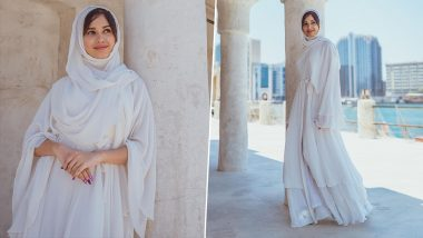 Phulwa Actress Jannat Zubair Rahmani Looks Like a Dream in an All-White Traditional Outfit as She Celebrates Jumma Mubarak; See PHOTOS