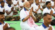 International Yoga Day 2021 Programme Live Streaming: Watch Live Telecast Of PM Narendra Modi's Address At 7th Yoga Day on Youtube Channel of DD News
