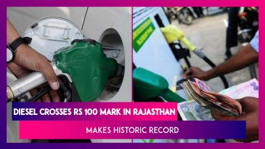 Diesel Crosses Rs 100 Mark In Rajasthan, Makes Historic Record; 'We're Saving Money For Welfare Schemes,' Says Union Minister Dharmendra Pradhan