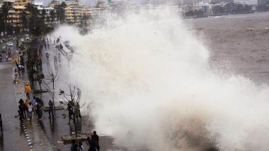High Tide Timing in Mumbai For Today: Wave Measuring 4.32 Metres Expected at 12:54 PM on June 11