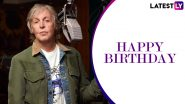 Paul McCartney Birthday Special: 5 Interesting Facts That You Did Not Now About The Beatles Singer