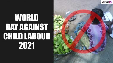 World Day Against Child Labour 2021: Quotes, Wishes, Slogans and HD Images to Create Awareness about Child Labour Exploitation
