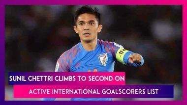Sunil Chhetri Becomes Second-Highest Active International Goalscorer After Cristiano Ronaldo