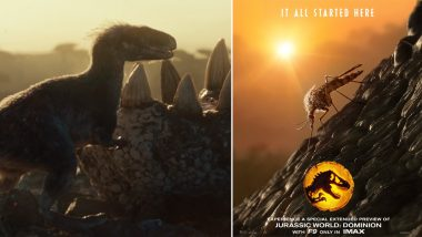 Jurassic World: Dominion's First Posters Are an Ode to Its Origins and 'Feathers'!