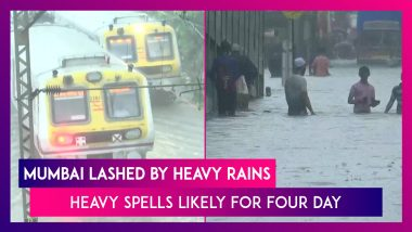 Mumbai Lashed By Heavy South West Monsoon Sees Waterlogging: Heavy Rain Warning In Place For 72 Hours