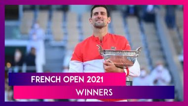 French Open 2021 Winners: Novak Djokovic And Other Winners Of This Year's Roland Garros