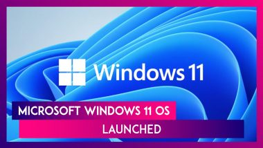 Microsoft Launches Windows 11 OS With Android Apps Integration, New Start Menu & More Features