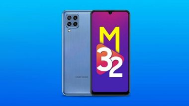 Samsung Galaxy M32 5G Smartphone To Go on Sale Tomorrow at 12 PM; Prices, Offers & Other Details