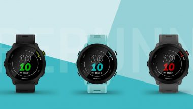 Garmin Forerunner 55 Smartwatch Launched in India at Rs 20,990