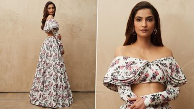 Sonam Kapoor Slays in Floral Coordinated Crop Top and Skirt as She Celebrates Her 36th Birthday in London; See PHOTOS