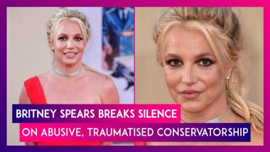 Britney Spears Breaks Silence On Abusive, Traumatised Conservatorship, Says 'I Just Want My Life Back'