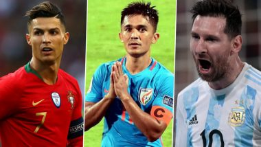 Top 5 Active International Goalscorers: Cristiano Ronaldo, Sunil Chhetri, Lionel Messi And Other Footballers With Most Goals At International Level