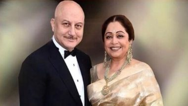 Anupam Kher Pens Heartwarming Birthday Post for Wife Kirron Kher, Says 'May God Give You Long and Healthy Life' (View Post)