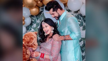 Kishwer Merchant Shares Gorgeous Baby Shower Picture With Husband Suyyash Rai