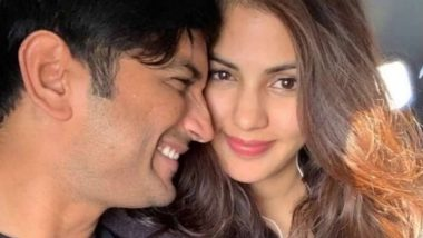 On Sushant Singh Rajput's Death Anniversary, Rhea Chakraborty Pens an Emotional Note for the Late Actor, Says 'You Were My Time and My Everything'