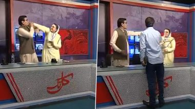 Pakistan PM Imran Khan's Close Aide Firdous Ashiq Awan Slaps PPP MNA Qadir Mandokhel During A TV Show; Video Goes Viral