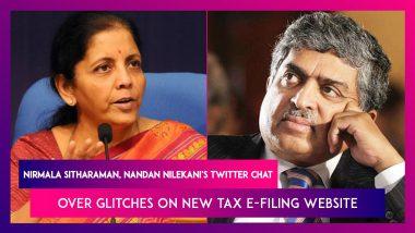 Nirmala Sitharaman, Nandan Nilekani's Twitter Chat Over Glitches On New Tax E-Filing Website