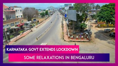 Karnataka Govt Extends Lockdown, Bengaluru Residents Will See Some Relaxation In Restrictions